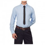 CAMISA OXFORD MANGA LARGAV-110-06012